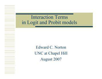 Probit and logit models marketing