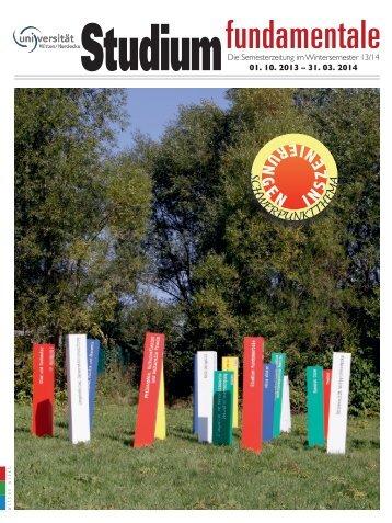 Stufu-Zeitung WS1314_finale_02102013.indd - Universität Witten ...