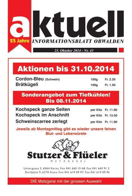Aktuell Obwalden 43-2014