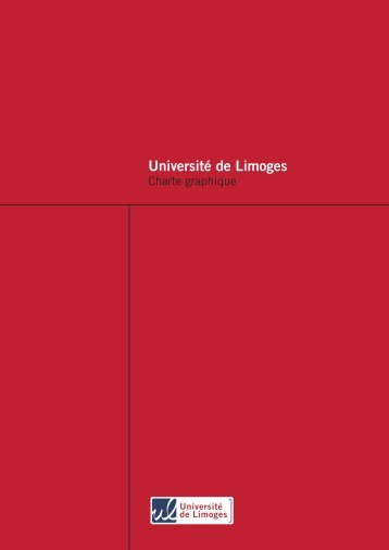 Charte graphique - Université de Limoges
