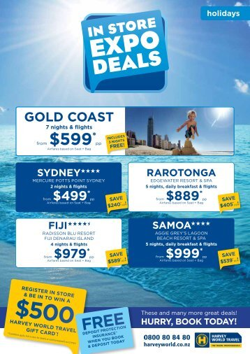 gold CoasT - Harvey World Travel