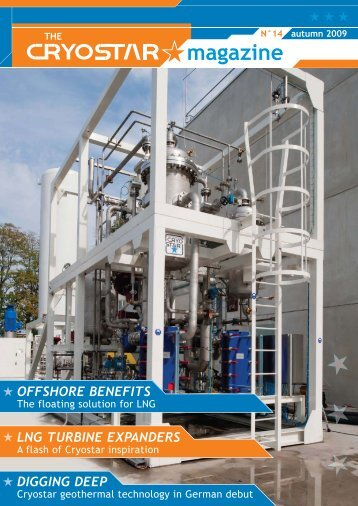 offshore benefits digging deep lng turbine expanders - Cryostar
