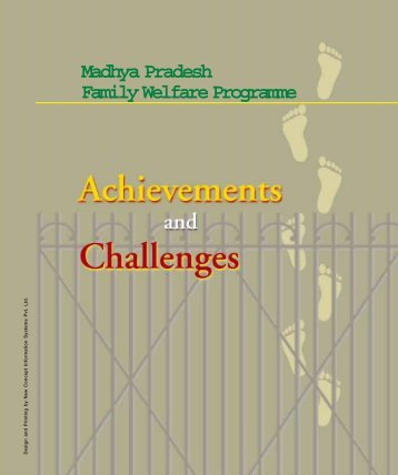 Madhya Pradesh Family Welfare Programme - POLICY Project
