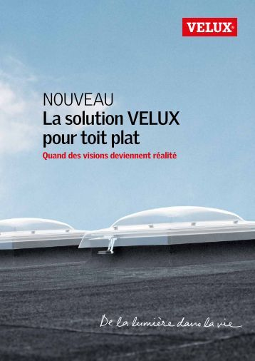 Vfe vfa vfb velux for Velux pour toit plat prix