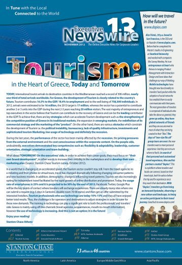 (13th issue) - The Online Executive News for ... - Stanton Chase