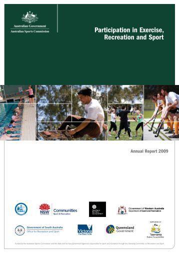 ERASS Report 2009 - VicSport