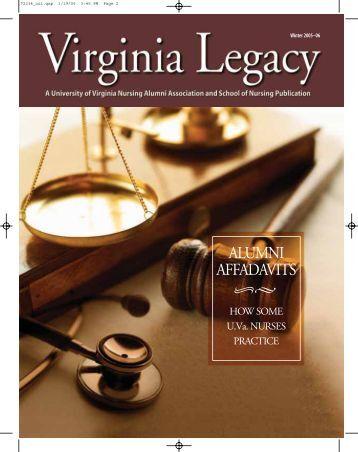ALUMNI AFFADAVITS - School of Nursing - University of Virginia