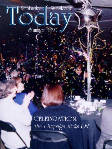 Summer 1999 - Kentucky Wesleyan College