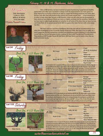 Friday - Whitetail Deer Farmer