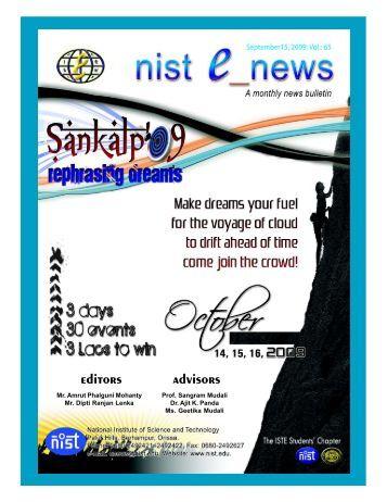 NIST e-NEWS(Vol 65, September 15, 2009)