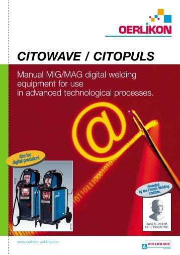 CITOWAVE / CITOPULS - Oerlikon Servicios > Welding Assistance