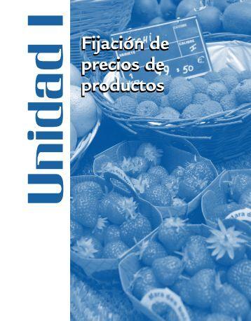 Fijación de precios de productos Fijación de precios de productos