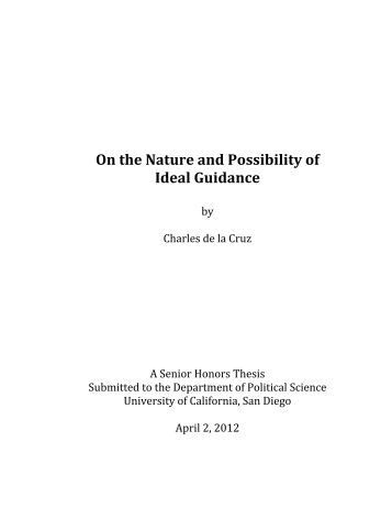 Political Science quality thesis