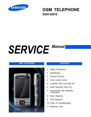 samsung sgh g810 service manual schoolupload rh schoolupload238 weebly com G810 Transparent AIA G810