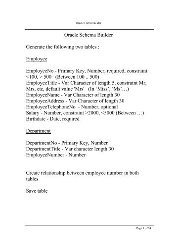 Oracle forms builder - gmitWEB