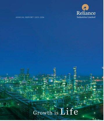 Annual Report 2006 - Reliance Industries Ltd