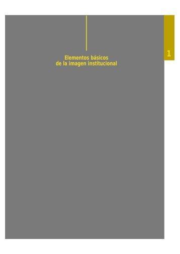 Elementos básicos de la imagen institucional (46 KB)