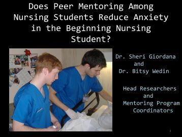 an analysis of mentoring in nursing