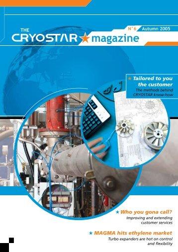 The Cryostar Magazine N°6 : pdf file