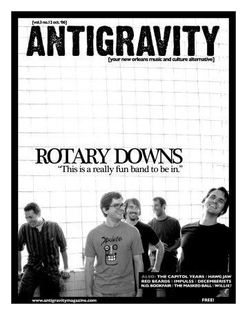 October 2006 (PDF) - Antigravity Magazine