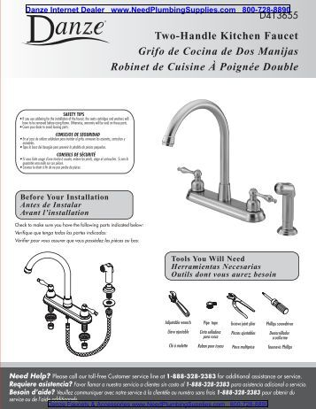 Two handle widespread lavatory faucets llaves de lavamanos for Llaves para cocina