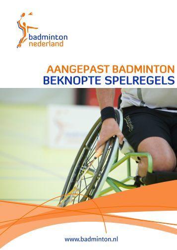 Spelregels Korfbal Badminton Spelregels