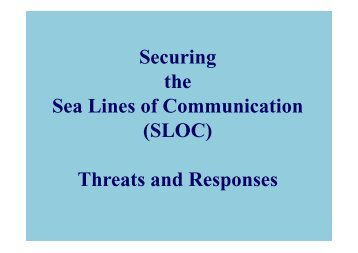 managing maritime security in malacca straits The malacca strait security initiative and prospects for minilateral initiatives maritime border management bilateral surveillance and coordinated patrols.