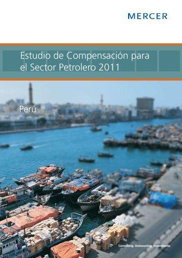 Estudio de Compensación para el Sector Petrolero ... - iMercer.com