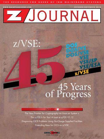 z/VSE: 45 Years of Progress - z/VM - IBM