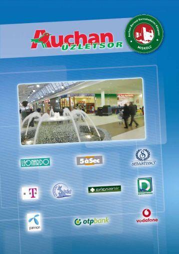 Auchan Miskolc - tavasz