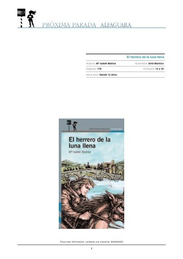 El herrero de la luna llena.pdf - Alfaguara