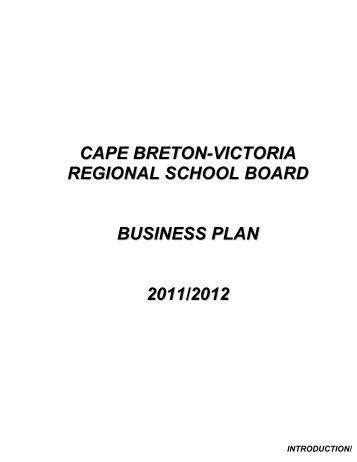 Business plan victoria