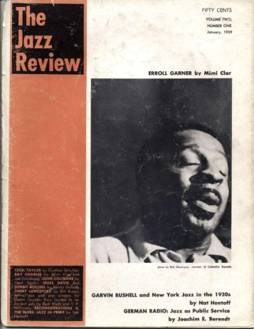 n - Jazz Studies Online