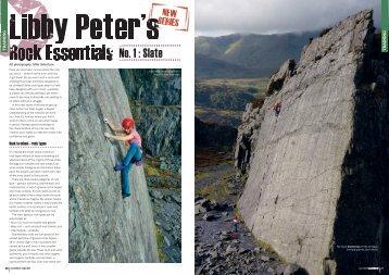 No. 1 : Slate - Libby Peter