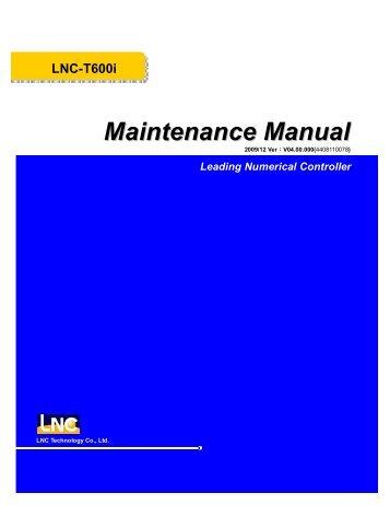 Maintenance Manual