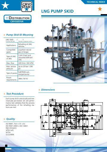 LNG PUMP SKID - Cryostar