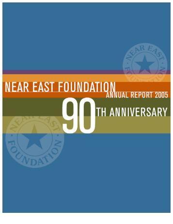NEF 2005 Annual Report - Near East Foundation