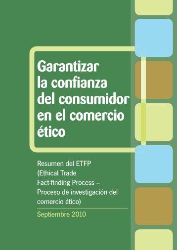 Garantizar la confianza del consumidor en el comercio ético