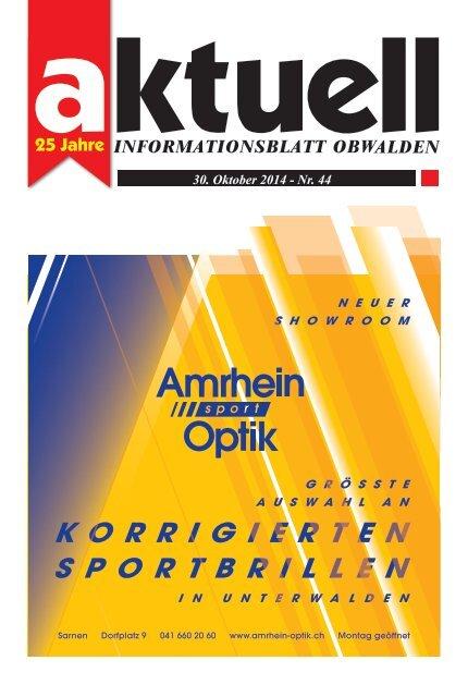 Aktuell Obwalden 44-2014