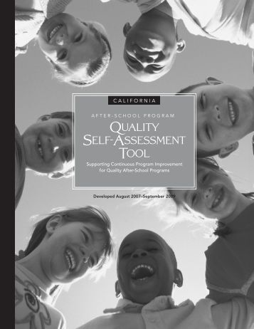 Quality Self-Assessment Tool - Tulare County Office of Education