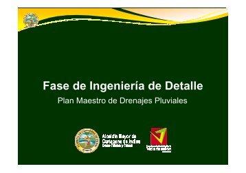 Plan Maestro de drenajes pluviales parte 2