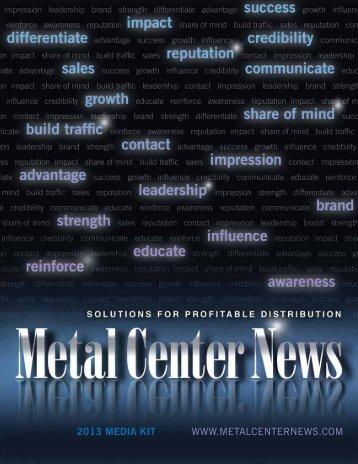 oCToB - Metal Center News