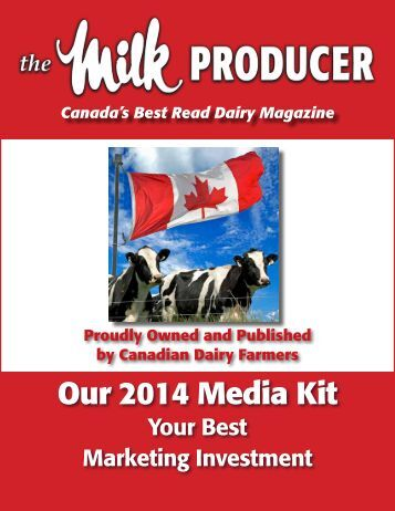 Your Best Marketing Investment - Dairy Farmers of Ontario