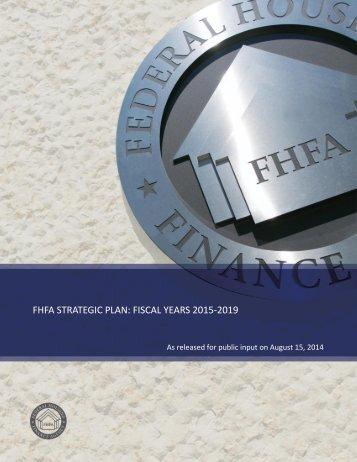FHFA_Strategic_Plan_Fiscal_Years_2015-2019