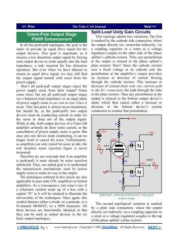 Totem-Pole Output Stage.pub - Tube CAD Journal