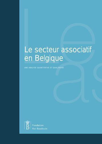 Le secteur associatif en Belgique