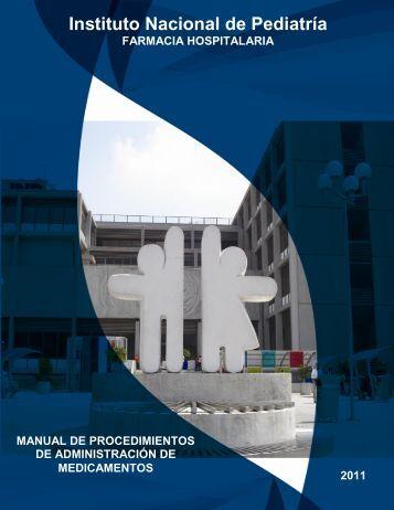 Manual de Procedimientos de Administración de Medicamentos