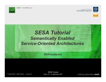 SESA Tutorial - WSMO