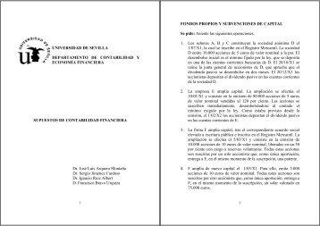 UNIVERSIDAD DE SEVILLA DEPARTAMENTO DE CONTABILIDAD ...