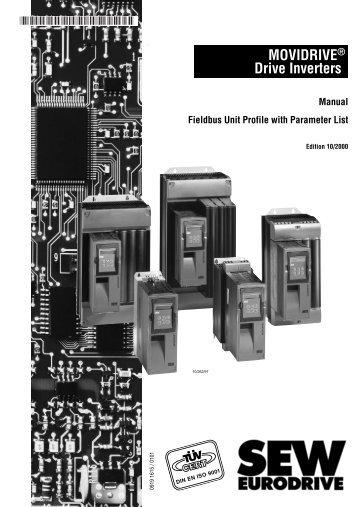 MOVIDRIVE® Drive Inverters Manual Fieldbus Unit ... - SEW Eurodrive